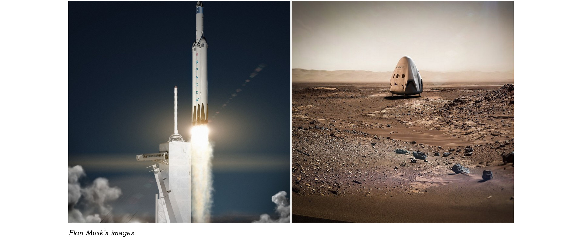 Elon Musk's Spacex to Mars in 2018